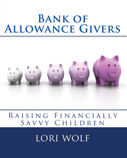 Bank of Allowance Givers by Lori Wolf